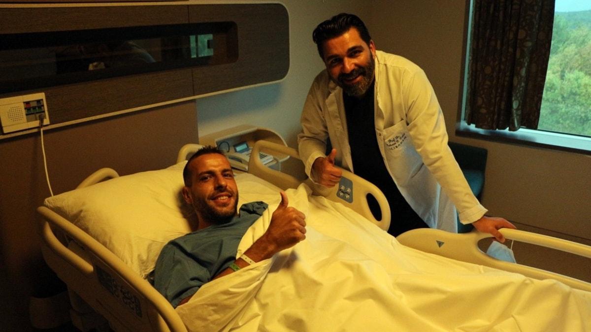 Fatih Karagümrük'ün kalecisi Bojan Saranov dizinden ameliyat geçirdi