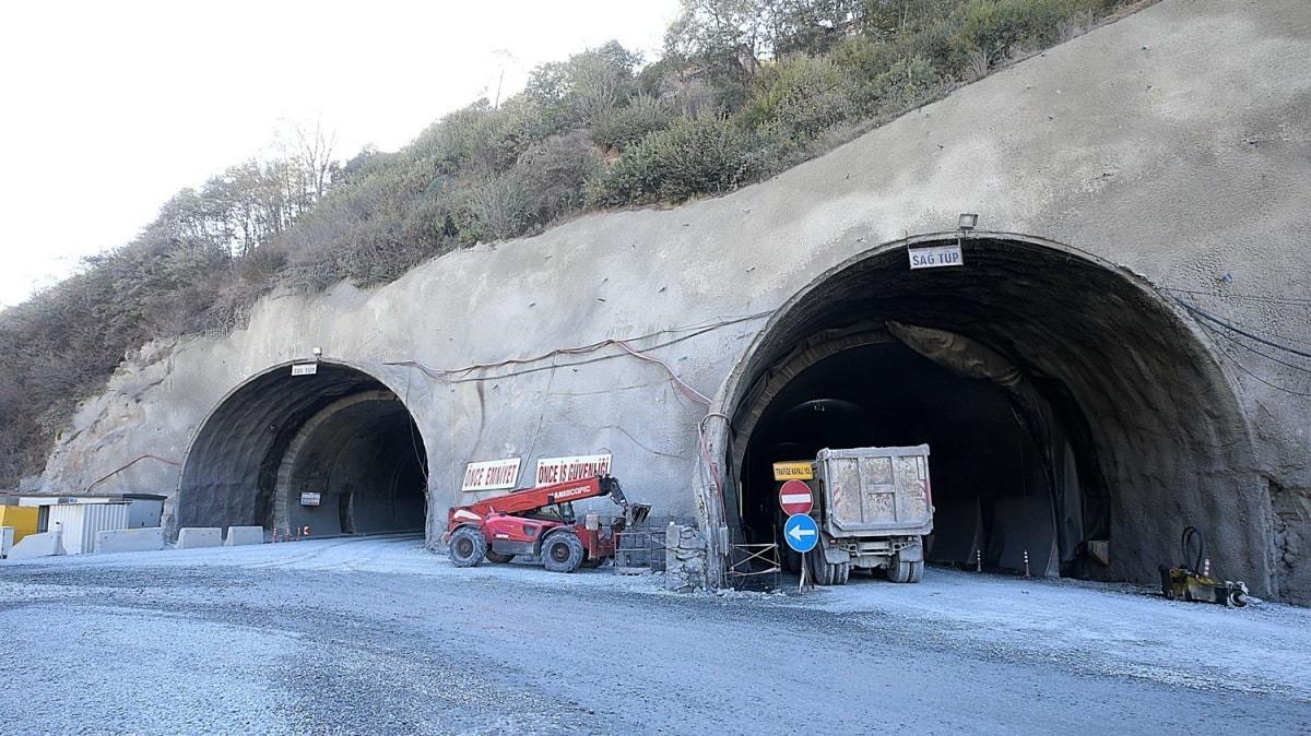 Yeni Zigana Tüneli için geri sayım başladı: Projedeki sistem Türkiye ve Avrupa'da ilk olacak