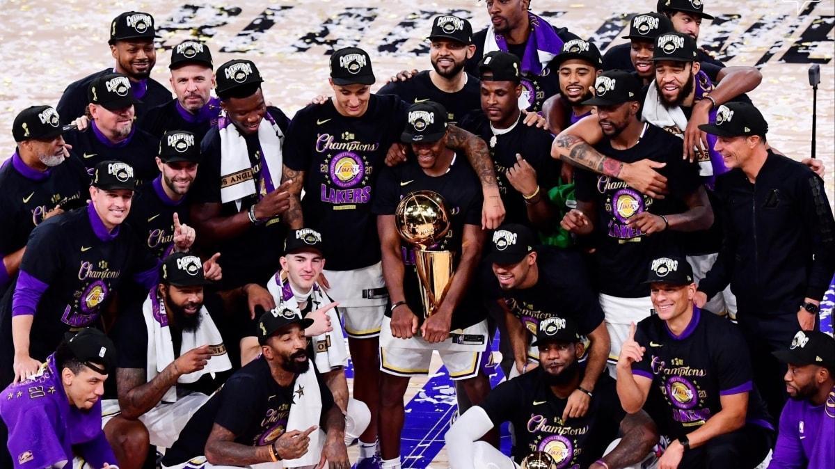 Los Angeles Lakers seriyi 4-2 kazanarak NBA şampiyonu oldu