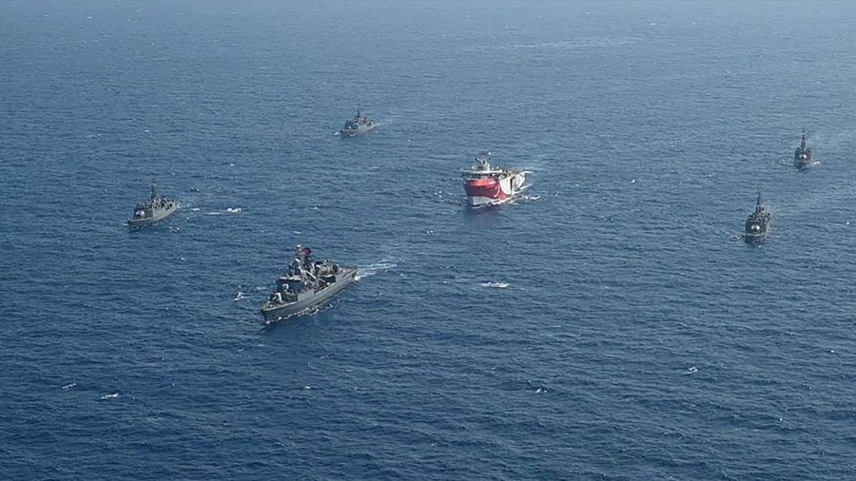 Türkiye'den yeni NAVTEX... Oruç Reis'e yeniden saha görevi verildi