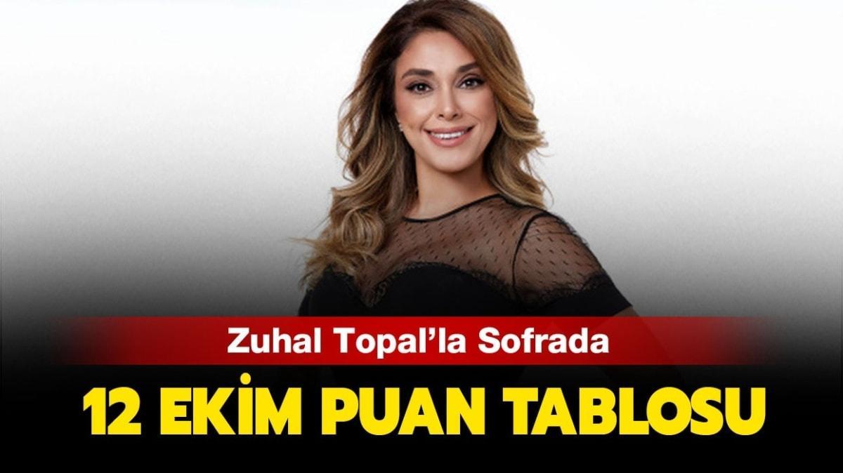 Zuhal Topal'la Sofrada 12 Ekim puan tablosu!