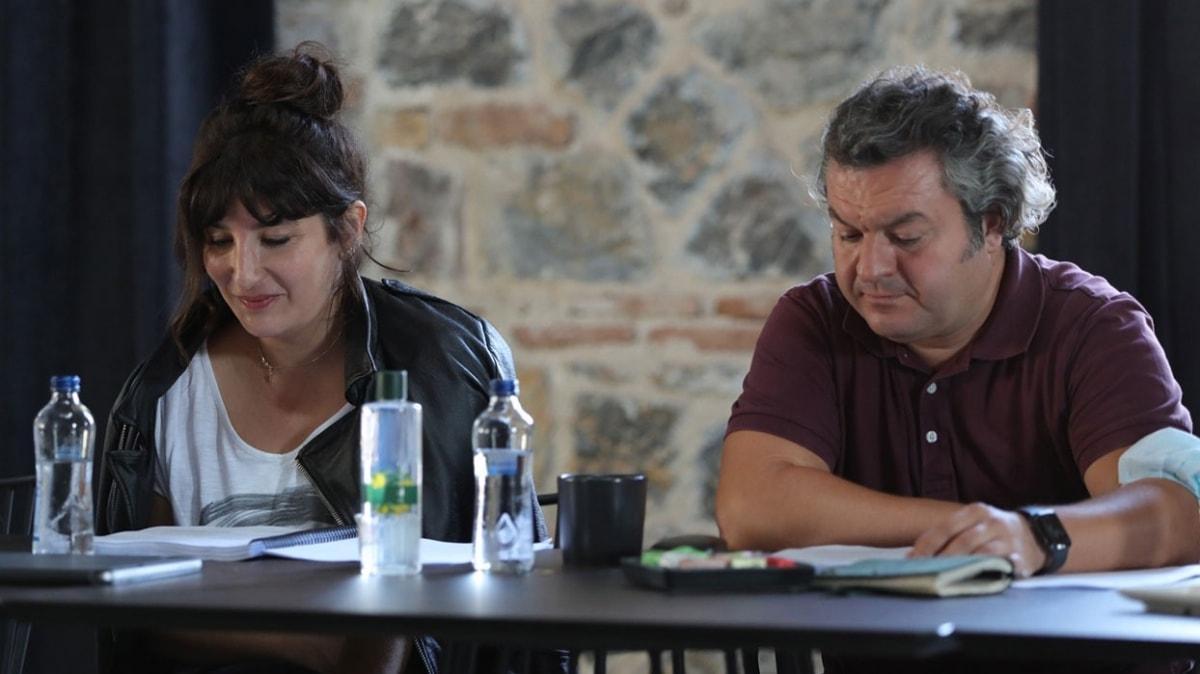 Şebnem Bozoklu, Çağlar Çorumlu ve Melek Baykal 'Aile Babası' dizisi için bir araya geldi
