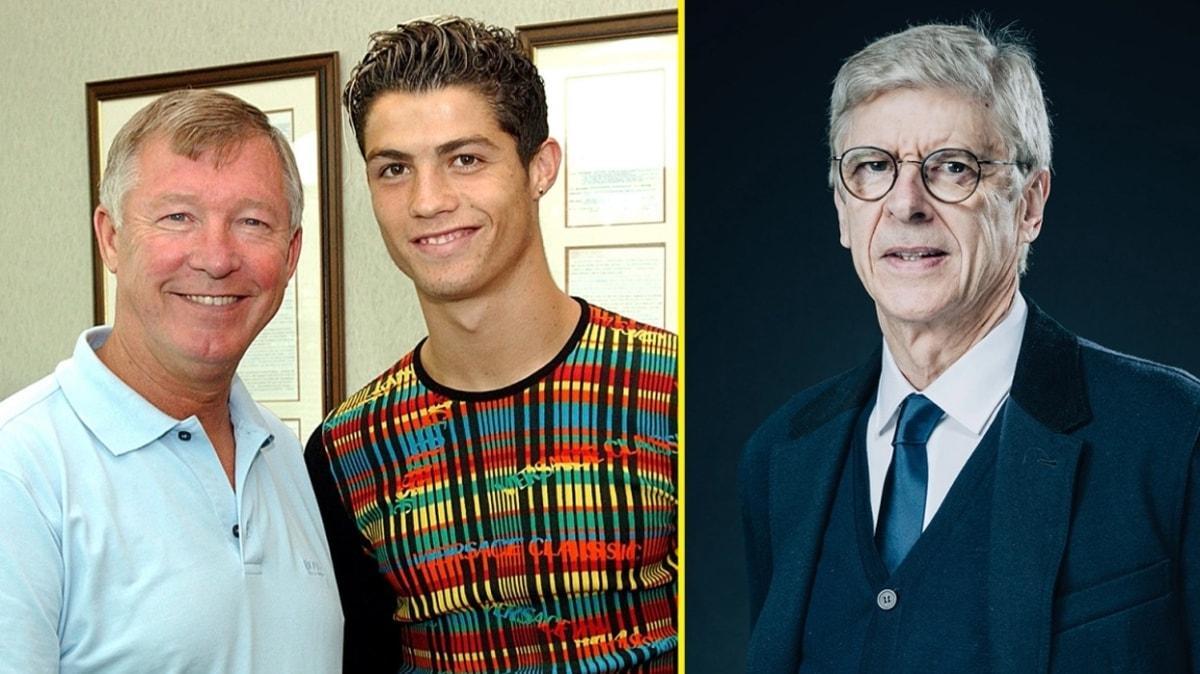 Arsene Wenger'den 17 yıl sonra gelen Cristiano Ronaldo itirafı