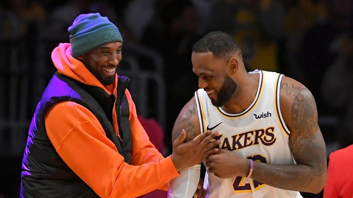 LeBron James, Kobe Bryant'a verdiği sözü tuttu