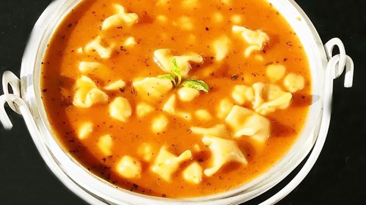 'Bugün ne yemek yapsam' diyenler için yüksük çorbası tarifi