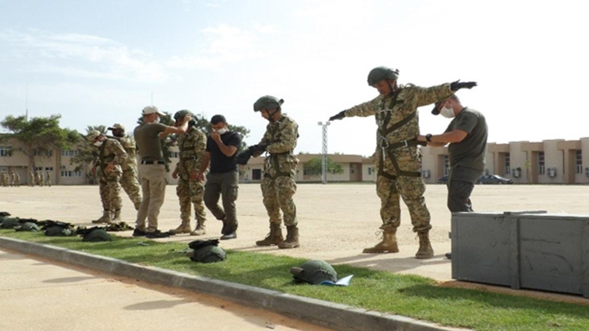 Türkiye'den Libya ordusuna eğitim desteği