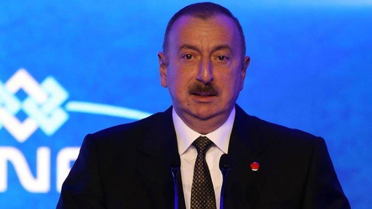 Azerbaycan Cumhurbaşkanı Aliyev: Türkiye bu sorunun çözümünde mutlaka olmalıdır