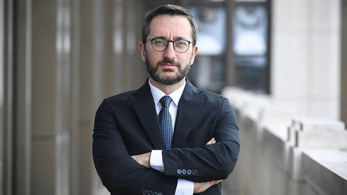 İletişim Başkanı Altun'dan Doğu Akdeniz mesajı: Diplomatik çözüme bağlılığımızı sürdürüyoruz