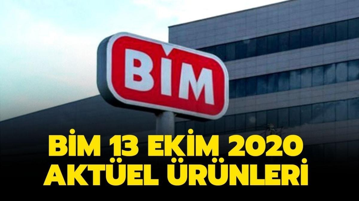 """BİM'e bugün neler geliyor"""" BİM 13 Ekim 2020 aktüel ürünler kataloğu yayınlandı!"""