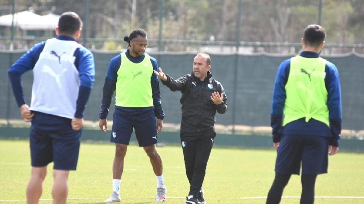 BB Erzurumspor, Hatayspor maçı hazırlıklarını sürdürdü
