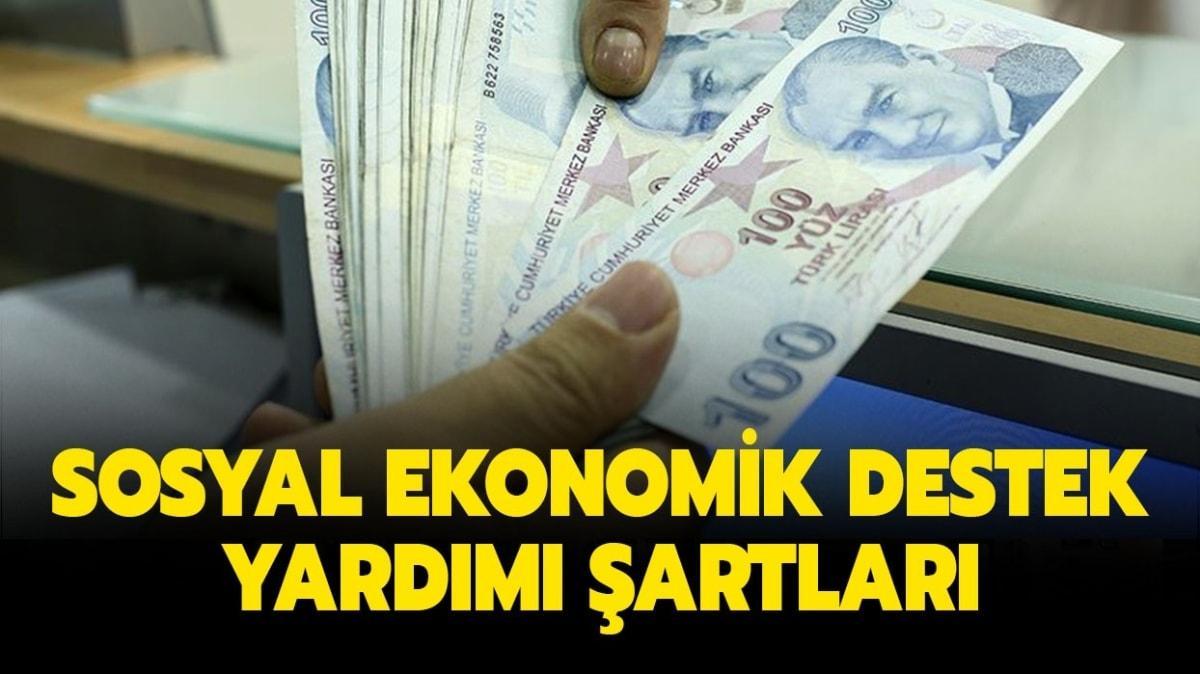 """Sosyal Ekonomik Destek (SED) yardımı şartları nelerdir"""" SED başvuru sonucu sorgulama ekranı!"""
