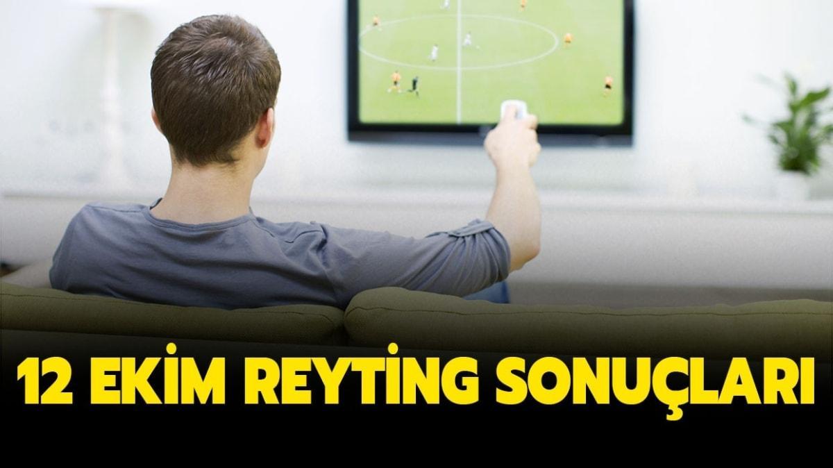 12 Ekim reyting sonuçları yayında!