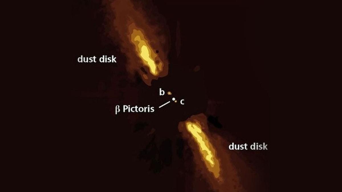 Dünya'dan 63 ışık yılı uzaklıktaki dış gezegen teleskopla görüntülendi