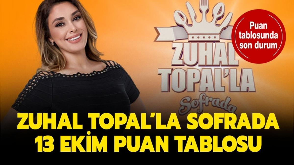 Zuhal Topal'la Sofrada 13 Ekim puan tablosu!