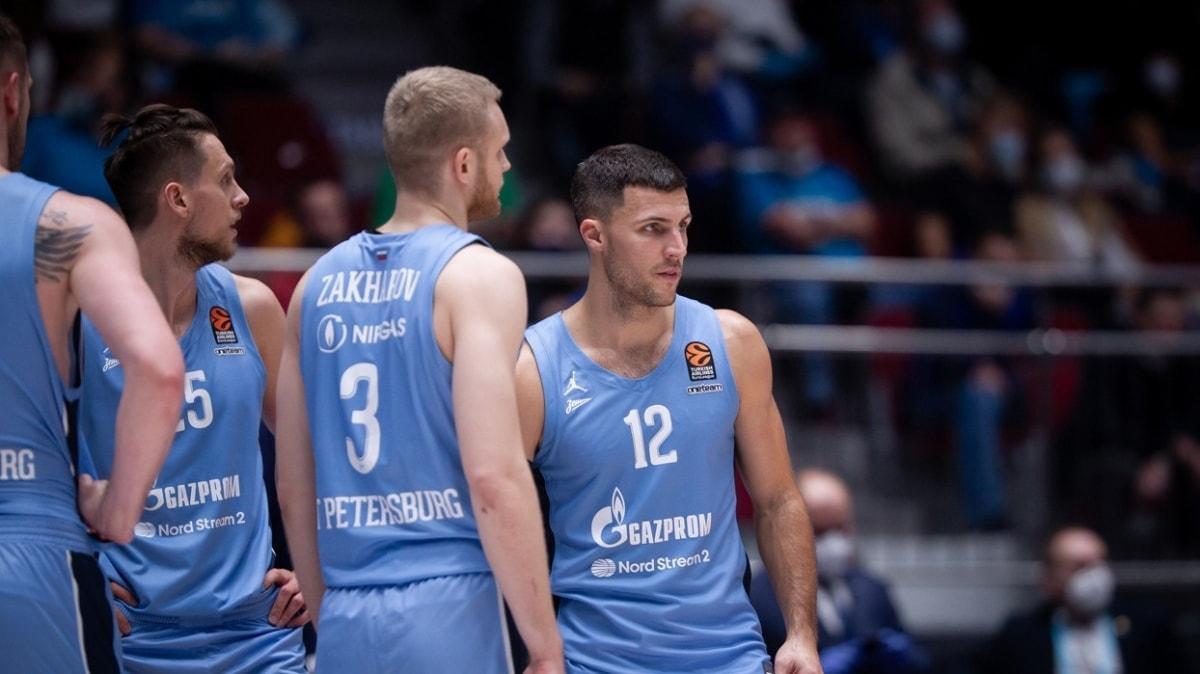 Zenit'in THY Avrupa Ligi'ndeki iki maçı, koronavirüs vakaları nedeniyle iptal edildi