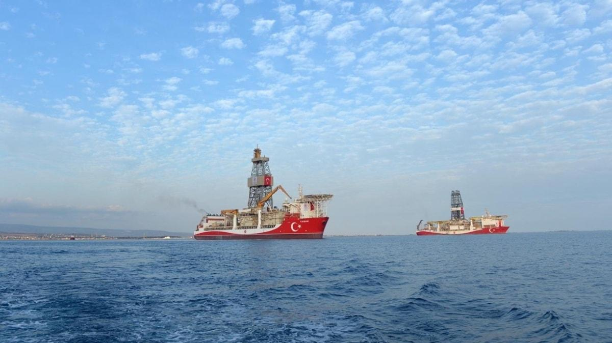 Enerji ve Tabii Kaynaklar Bakanı Dönmez paylaştı... Kanuni sondaj gemisinden Yavuz'a selam