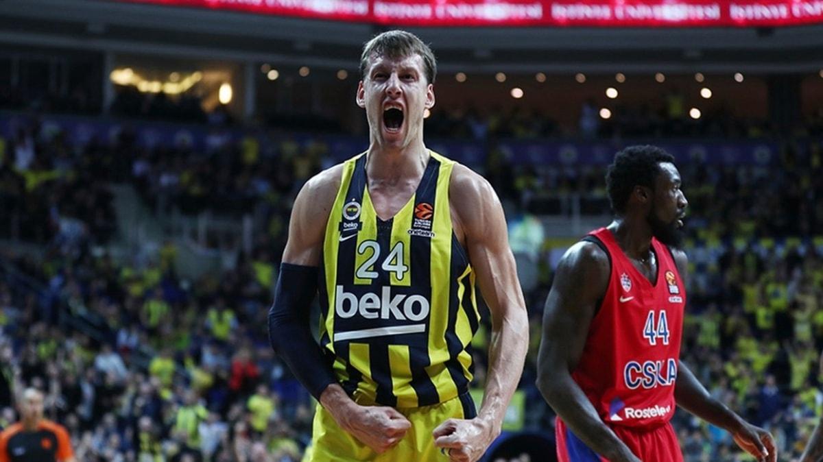 THY Avrupa Ligi'ndeki temsilcimiz Fenerbahçe Beko, CSKA Moskova'yı konuk ediyor