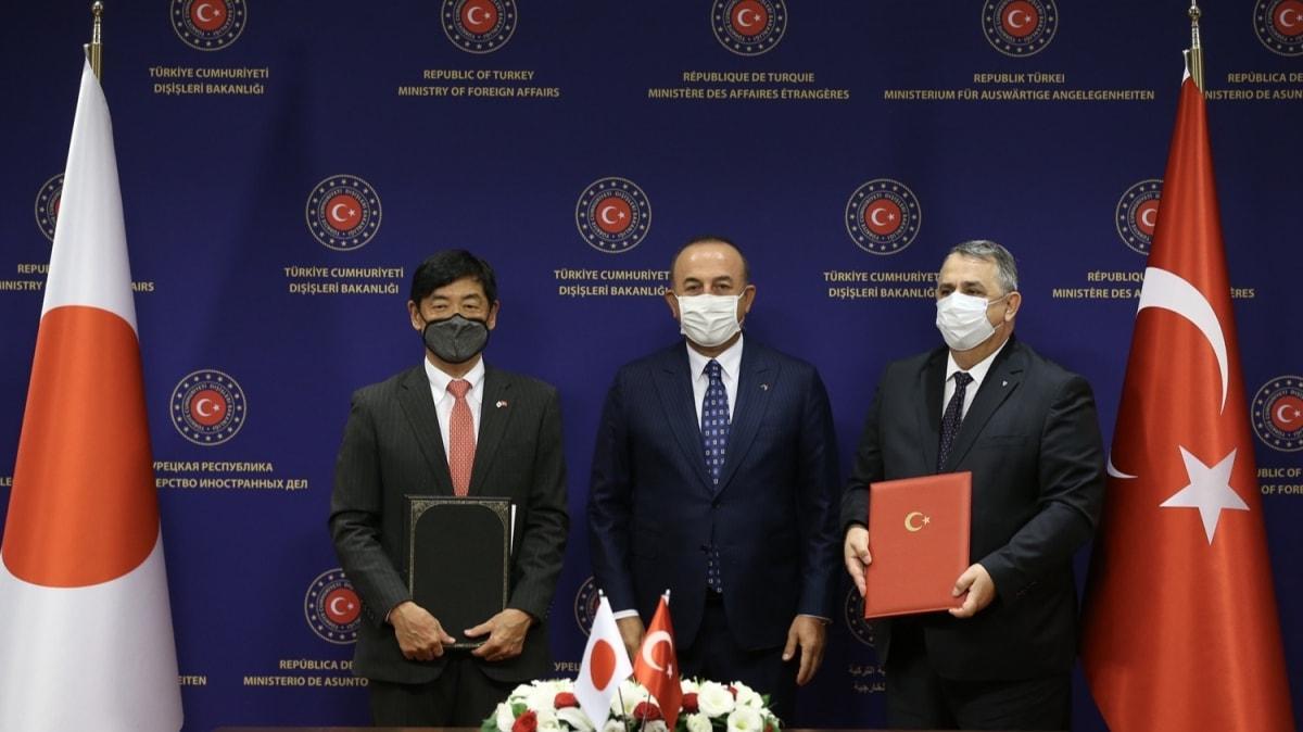 Bakan Çavuşoğlu: Japonya bizim için önemli bir dost ve güvenilir bir ortaktır