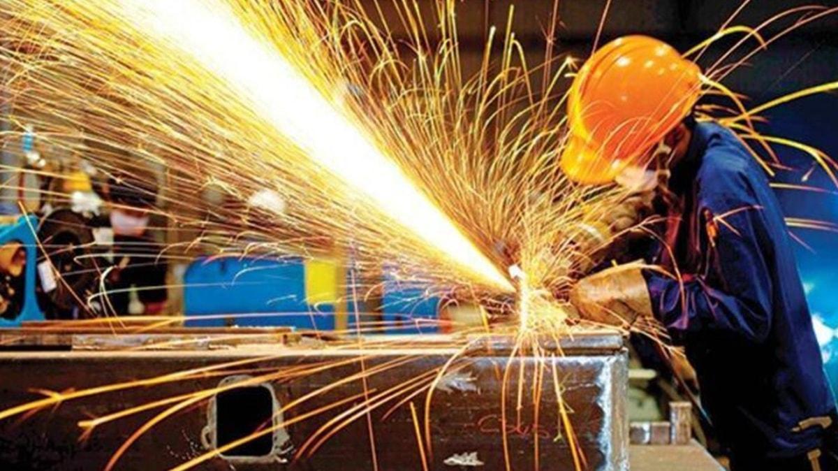 Sanayi üretim endeksi açıklandı: Yıllık bazda yüzde 10,4 arttı