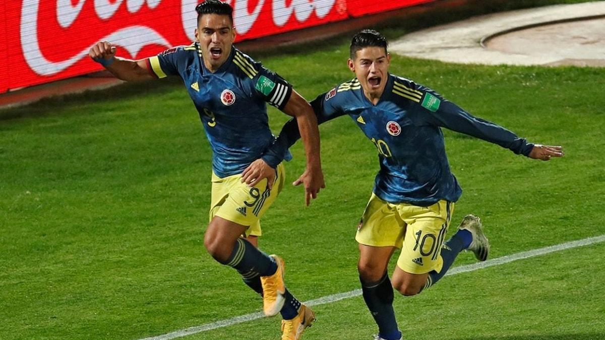 Falcao Kolombiya'yı son dakikada ipten aldı