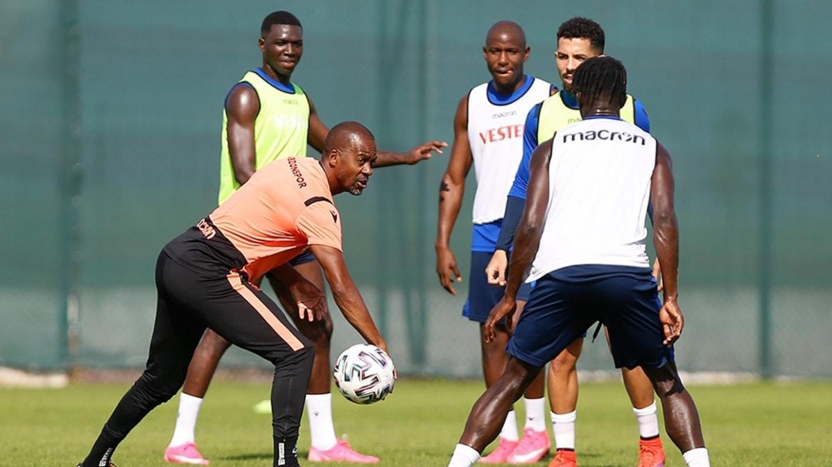 Trabzonspor'da Edgar Ie takımla çalışmalara başladı