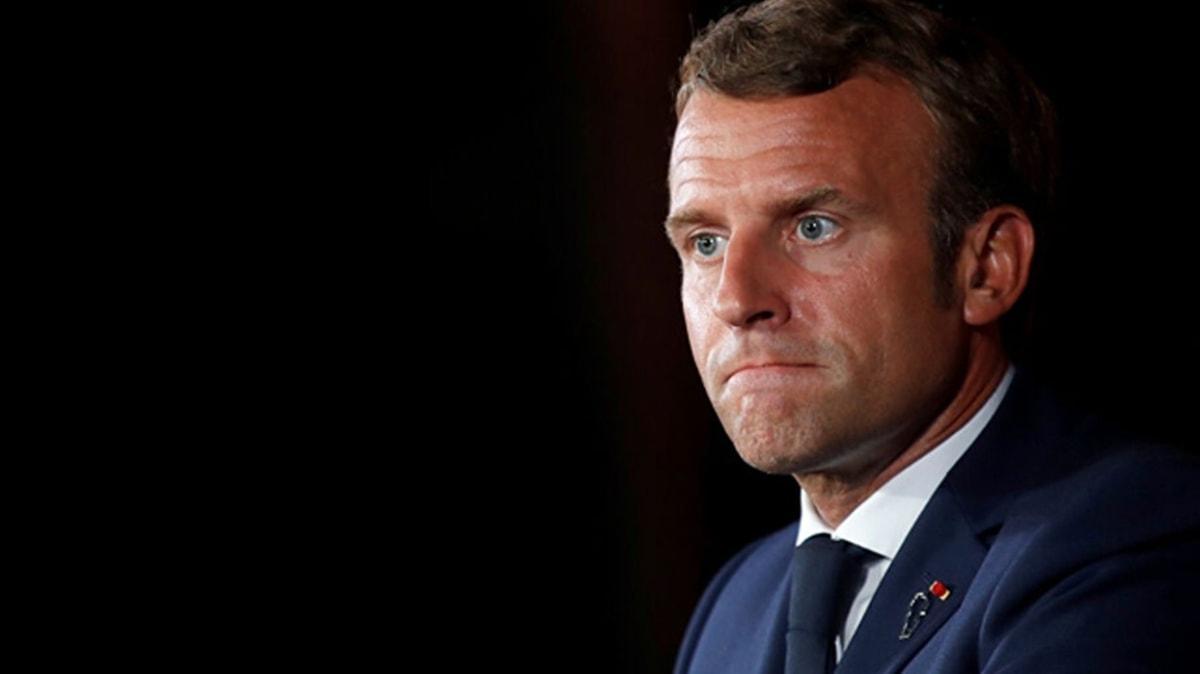 Macron'a güven azalıyor: Krizin yüzü olmamaya çalışıyor