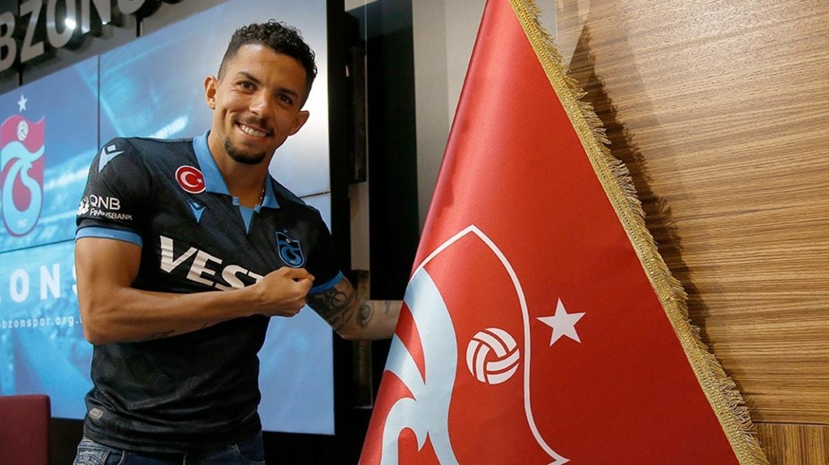 Flavio: Trabzonspor hayalimin gerçekleşmesi için gece gündüz dua ettim