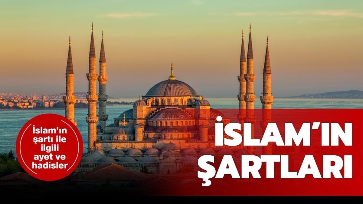 """İslam'ın şartları kısaca nedir"""" İslam'ın şartı kaçtır"""""""