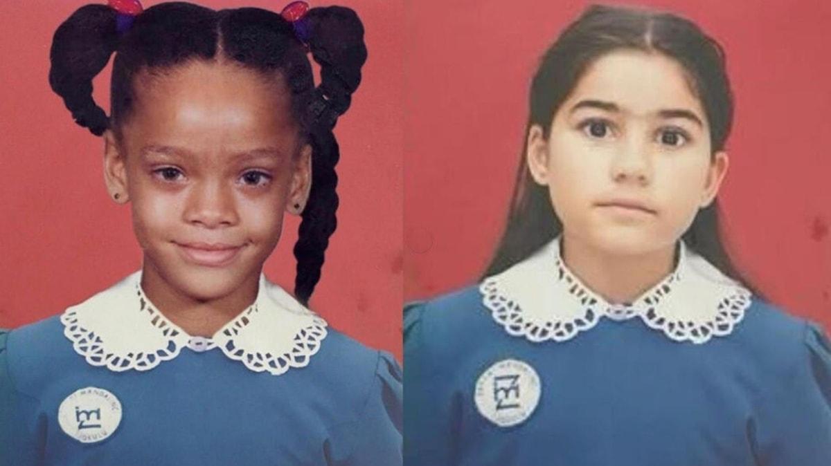 Zeynep Çamcı'nın esprili Rihanna paylaşımı sosyal medyayı salladı