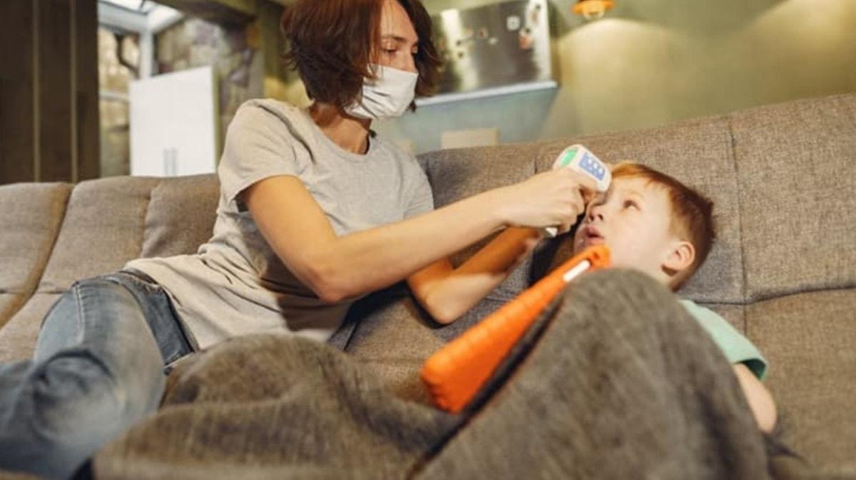 """Çocuğun grip mi Covid mi olduğu nasıl anlaşılır"""""""