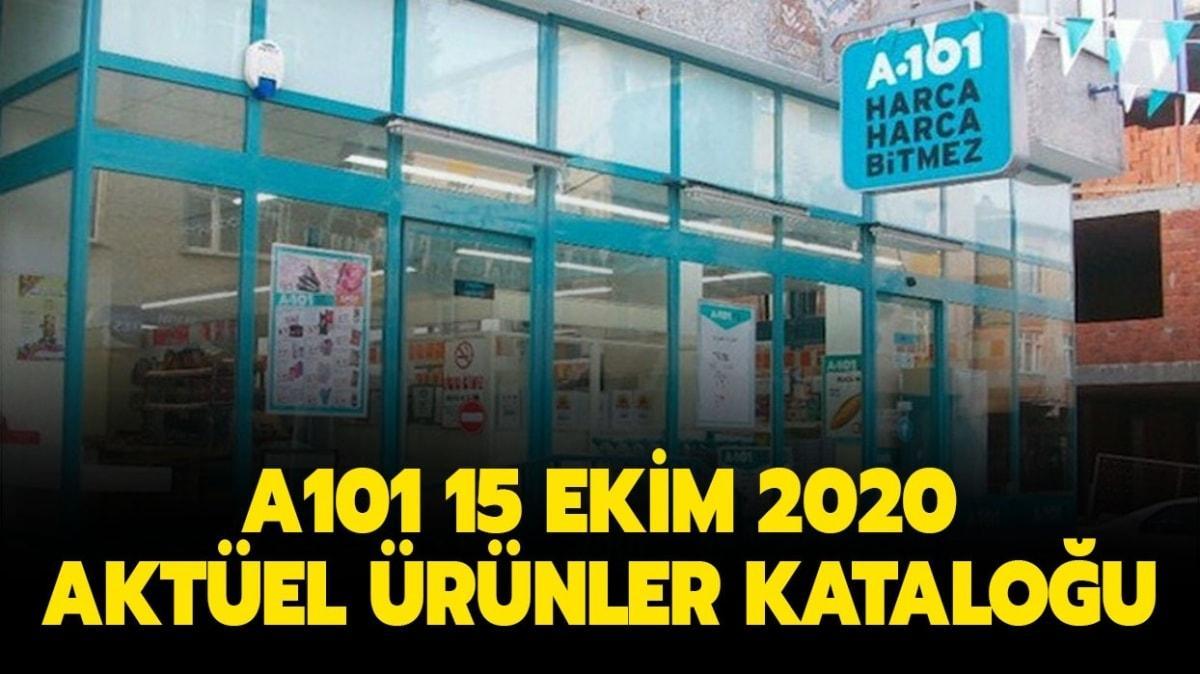"""A101 15 Ekim 2020 aktüel ürünler kataloğu yayınlandı! A101'de bugün neler geliyor"""""""