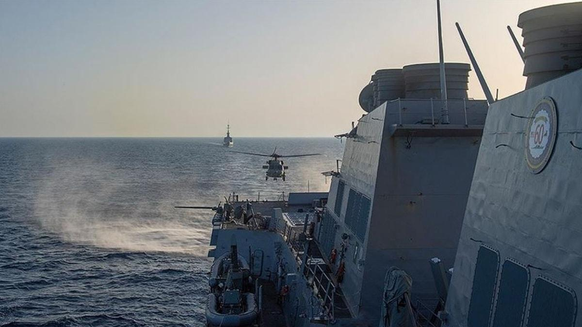 Fransa Doğu Akdeniz'de gerilimi tırmandırıyor... ABD ile ortak tatbikat yaptılar