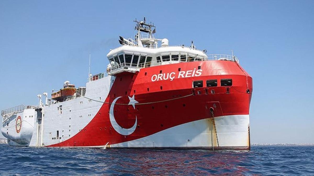 """Bakan Dönmez'den """"Oruç Reis"""" açıklaması: Doğu Akdeniz'de faaliyet göstereceği bölgeye vardı"""