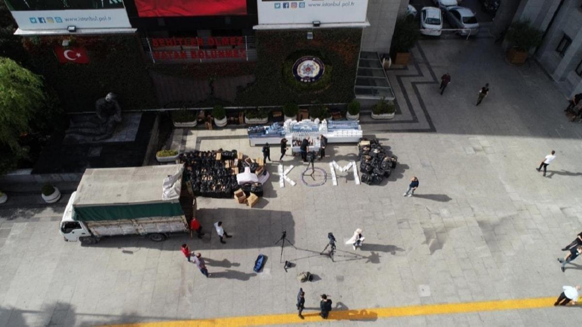 İstanbul Valiliği duyurdu... Sahte içki operasyonunda binlerce litre sahte alkol ele geçirildi