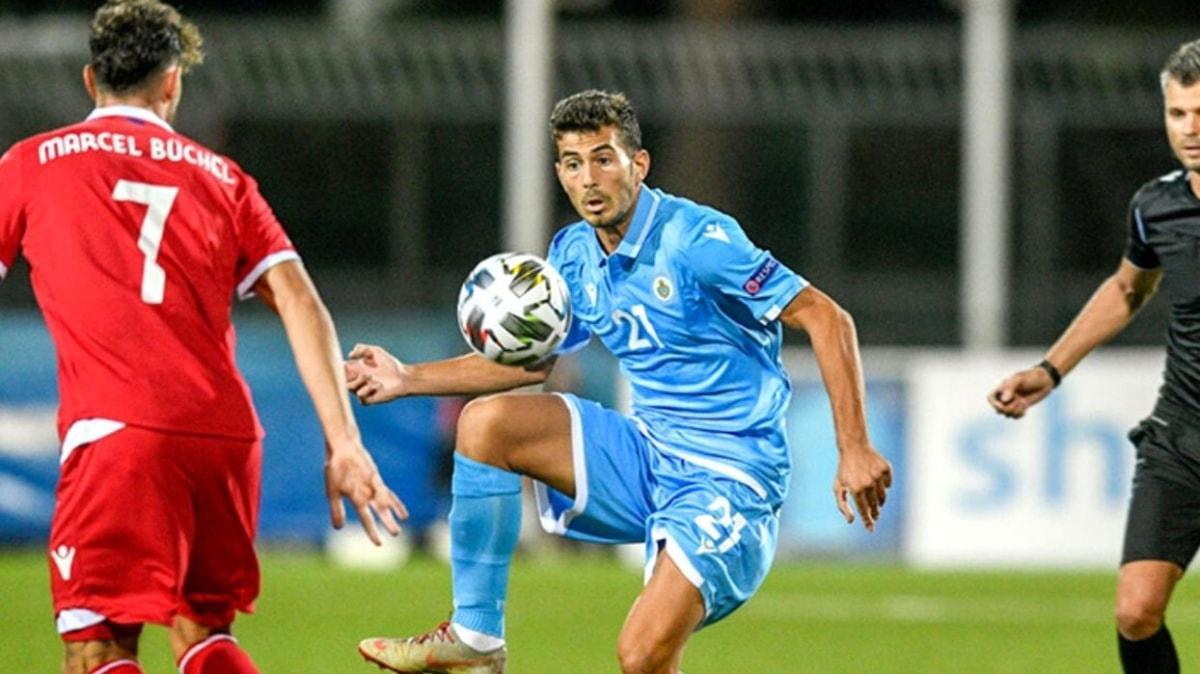 San Marino 40 maç sonra ilk kez puan aldı