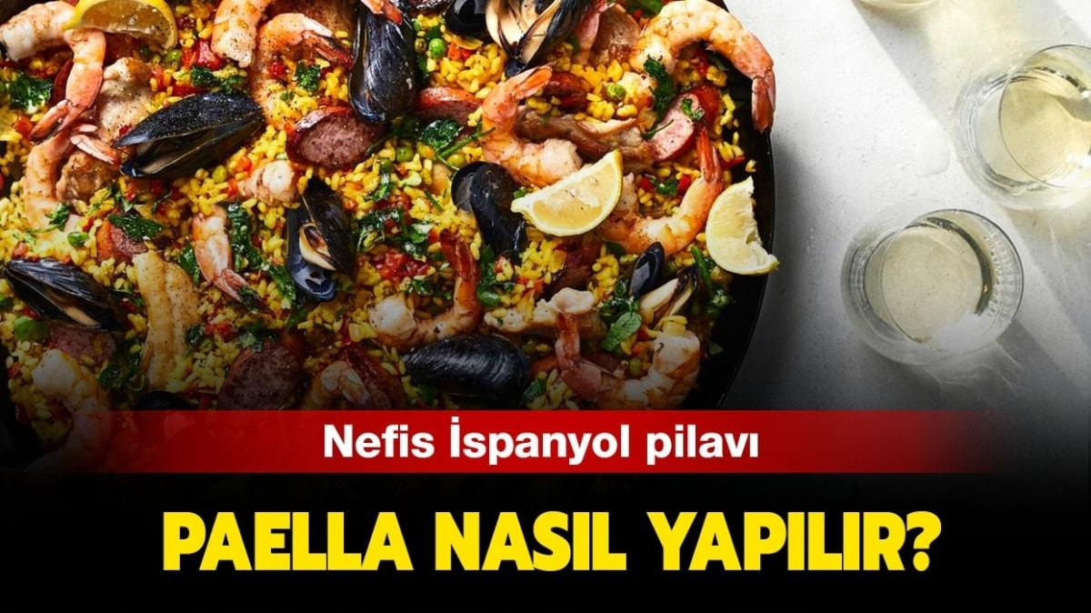 """Paella nasıl yapılır, malzemeleri nelerdir"""" MasterChef Paella tarifi ve yapılışı!"""