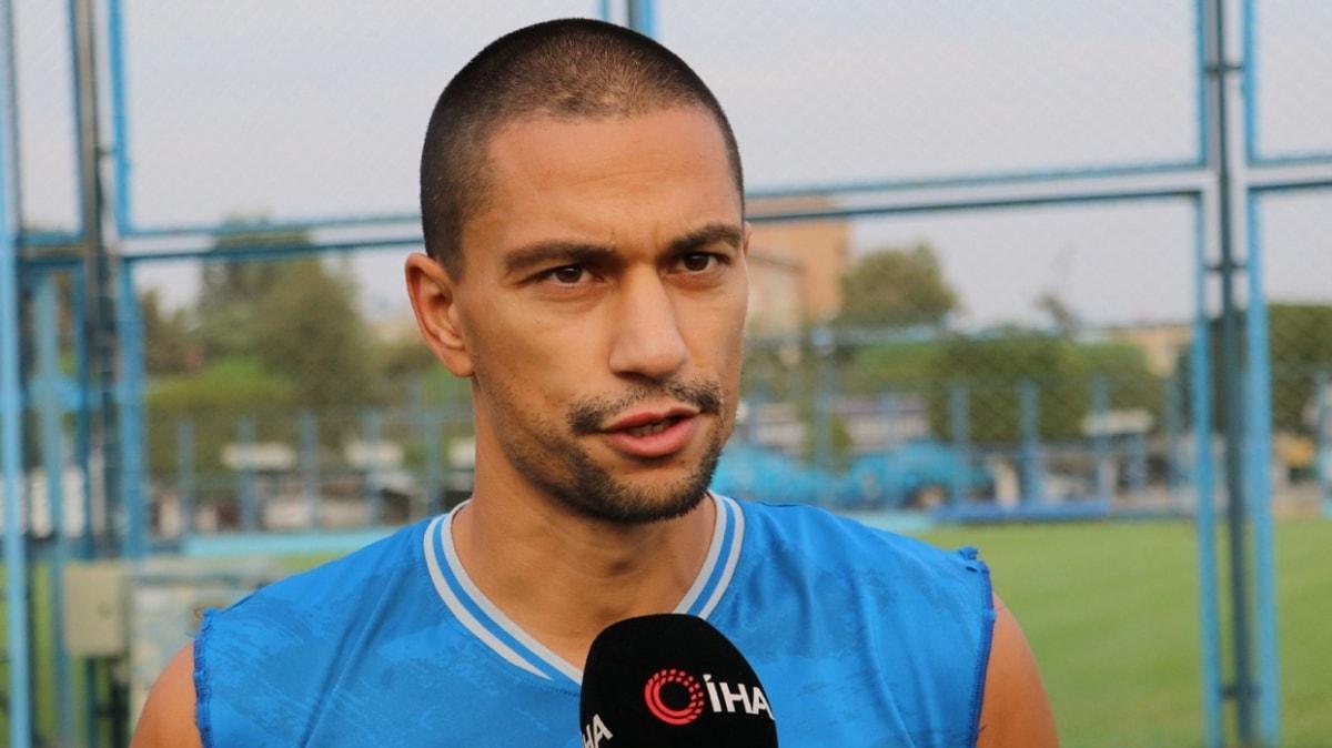 Gökhan İnler: İnşallah tecrübemle Adana Demirspor'a Süper Lig'i gösterebiliriz