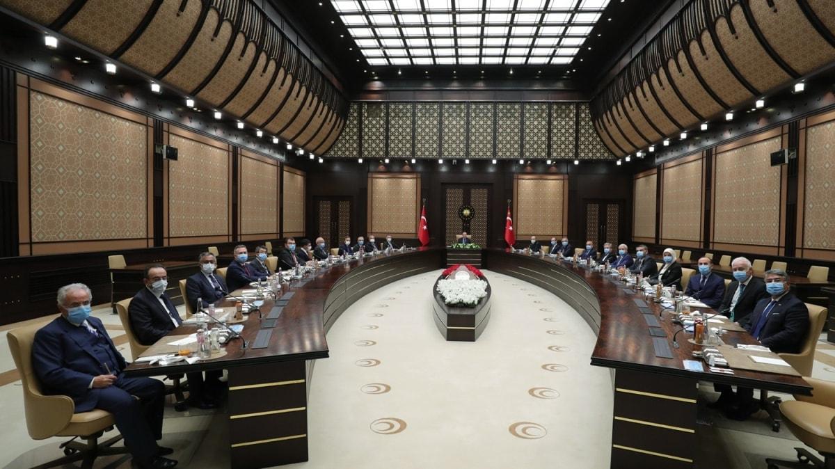 Başkan Erdoğan, YÖK heyetini kabul etti