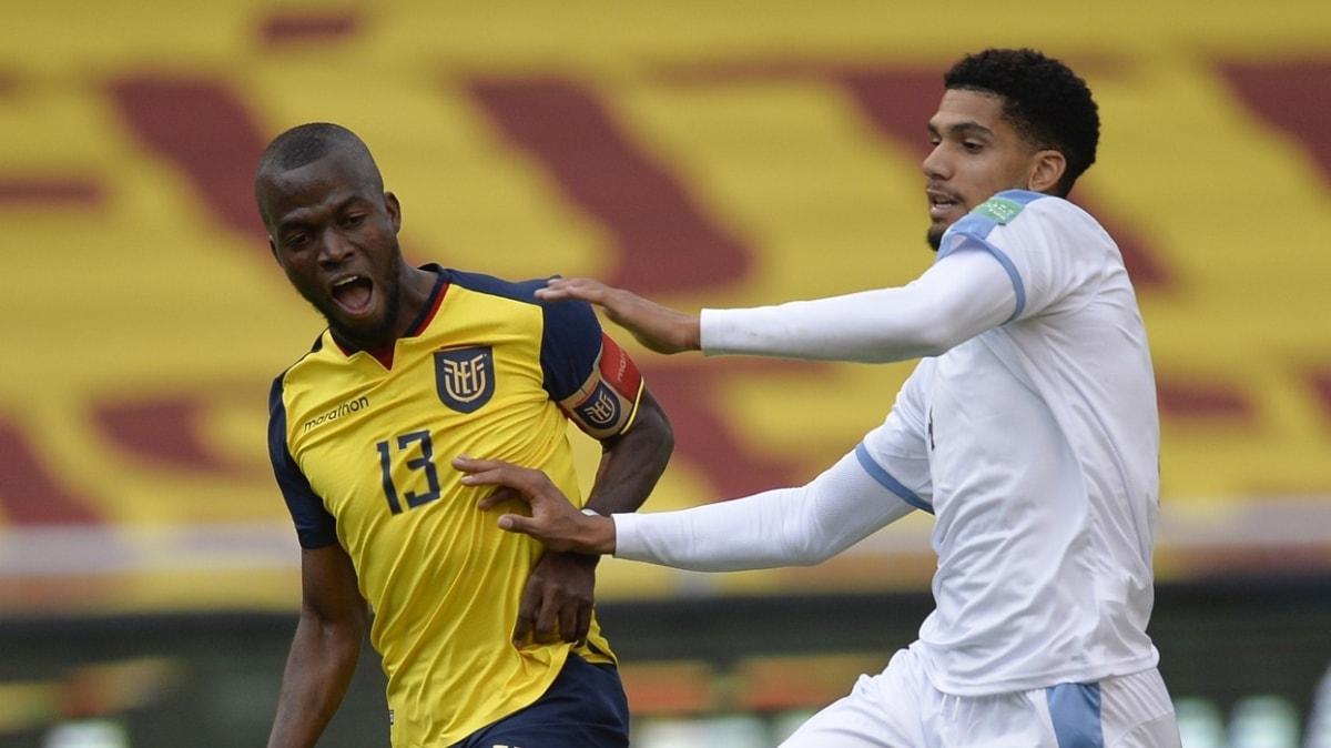 Enner Valencia, Ekvador-Uruguay maçında müthiş bir performans sergiledi