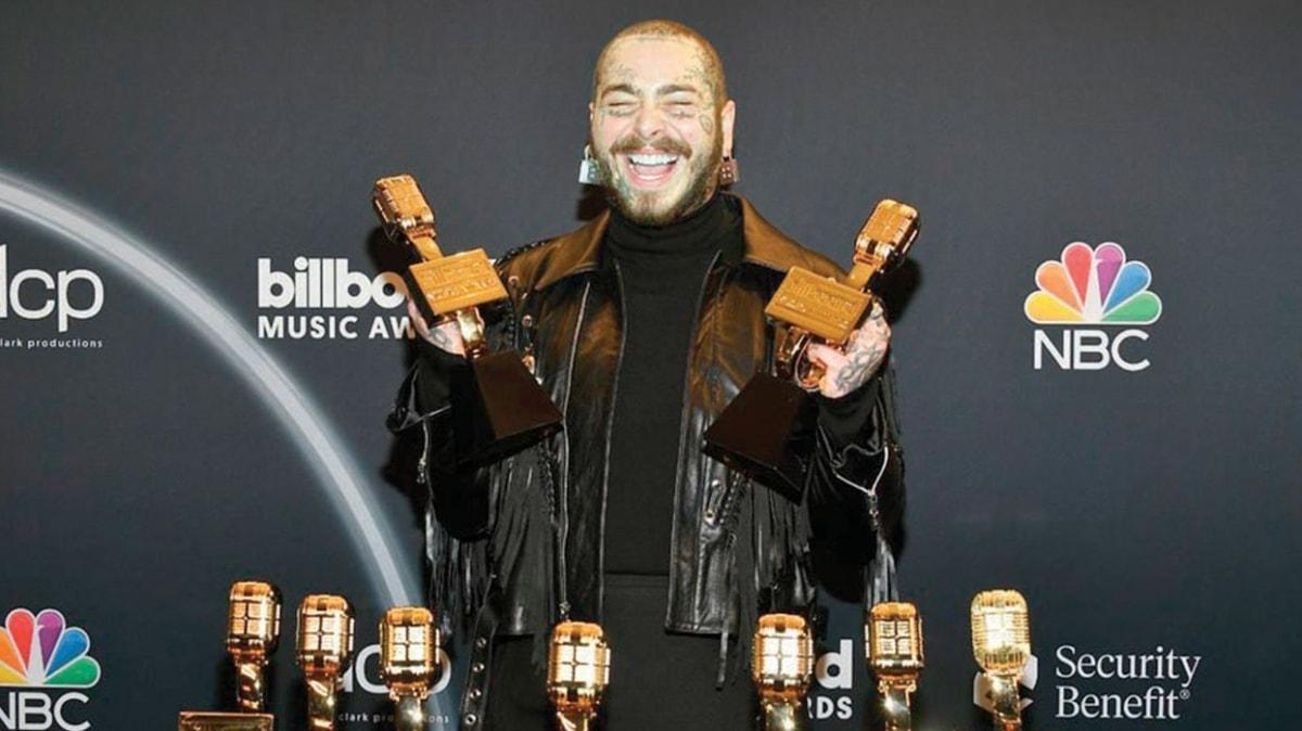 2020 Billboard Müzik Ödülleri'nde gecenin kazananı 2020 Billboard Müzik Ödülleri'de gecenin kazananı Post Malone