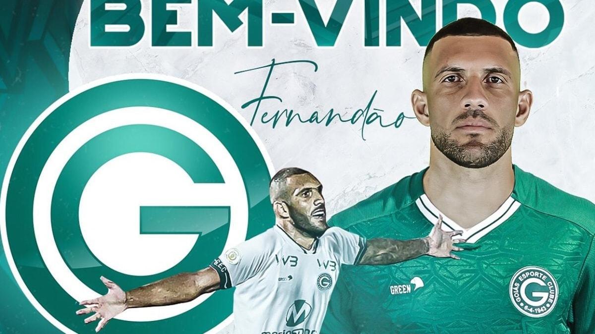 Süper Lig'den birçok talibi olan Fernandao, Goias'a transfer oldu