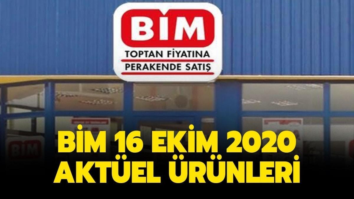 """BİM 16 Ekim 2020 aktüel ürünler kataloğu yayında: BİM'e bugün neler geliyor"""""""