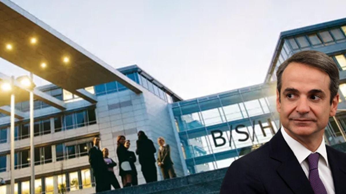 Yunanistan'da faaliyet gösteren beyaz eşya firması BSH-Pitsos üretim operasyonlarını Türkiye'ye taşıyor