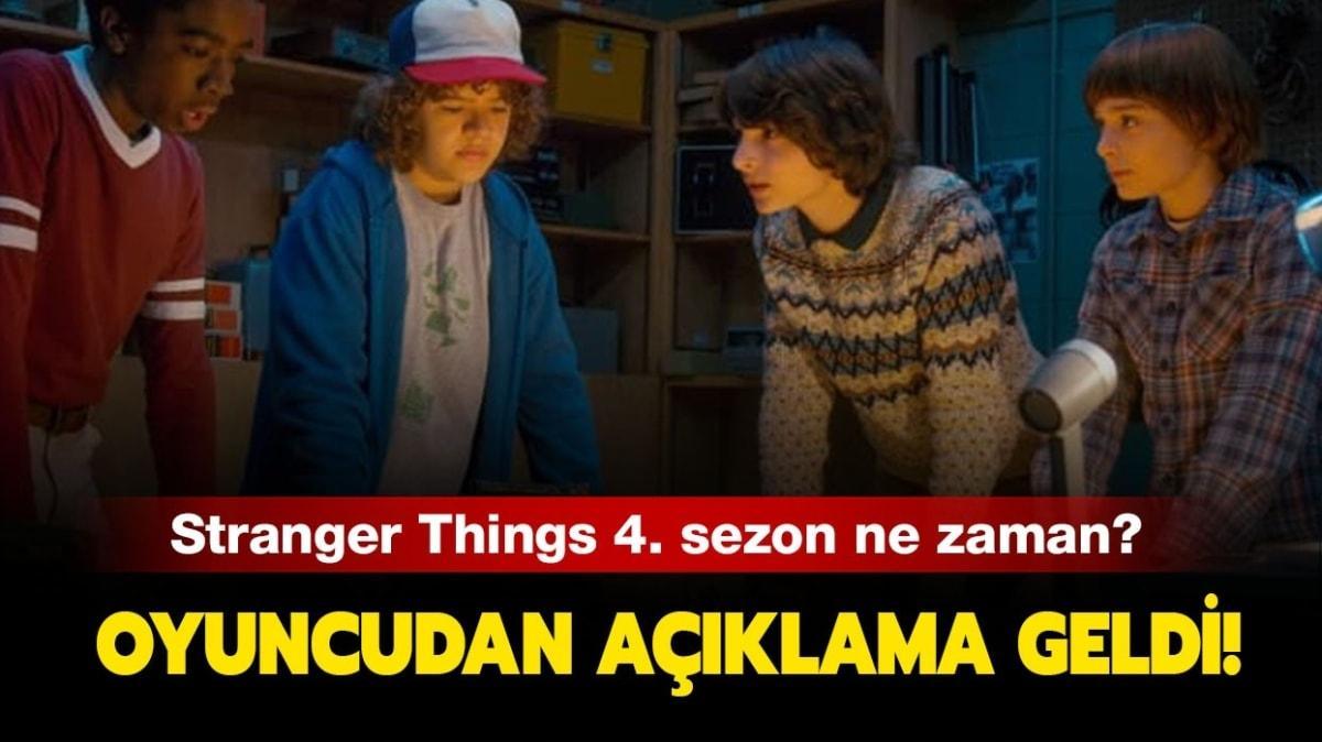 "Stranger Things 4. sezon fragmanı! Stranger Things 4. sezon ne zaman çıkacak"""