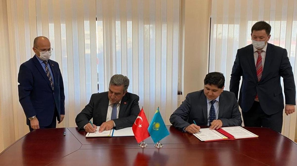 Türkiye ile Kazakistan arasında imzalar atıldı: Uzay alanında iş birliği yapılacak