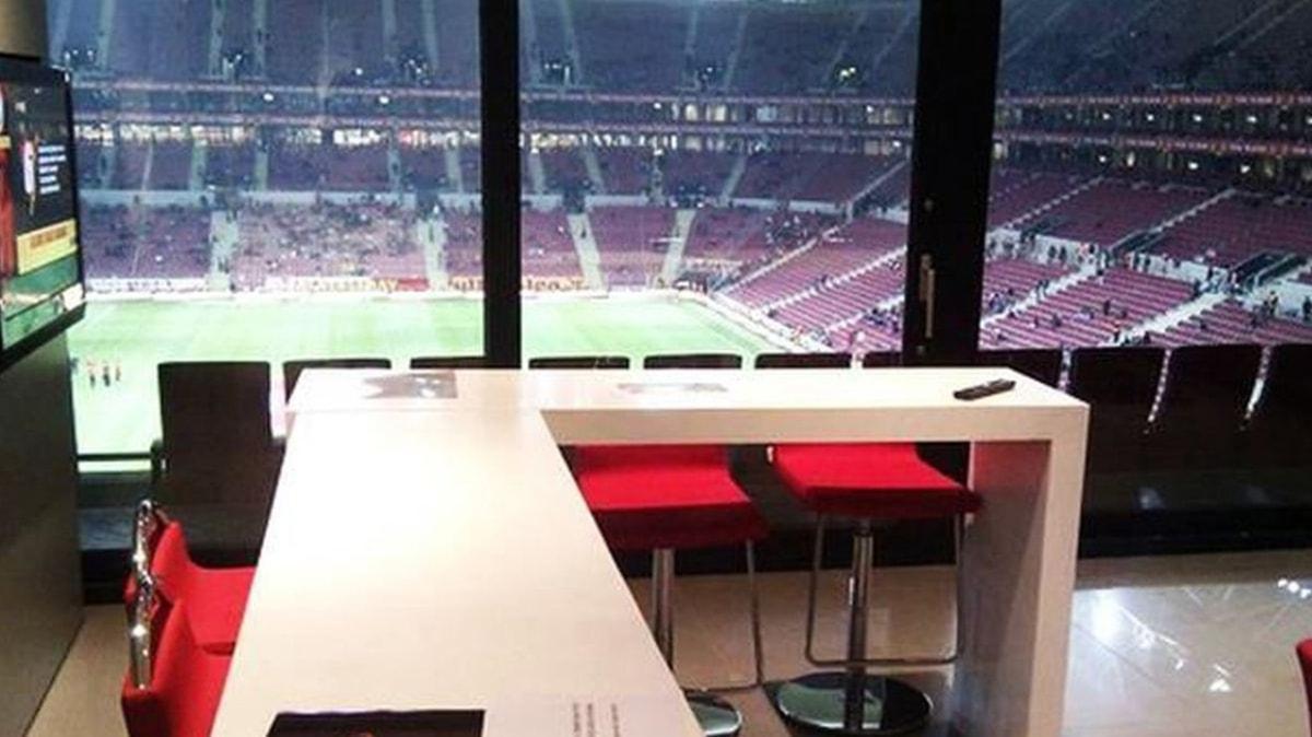 Galatasaray'da Alanyaspor maçı için loca satışı başladı