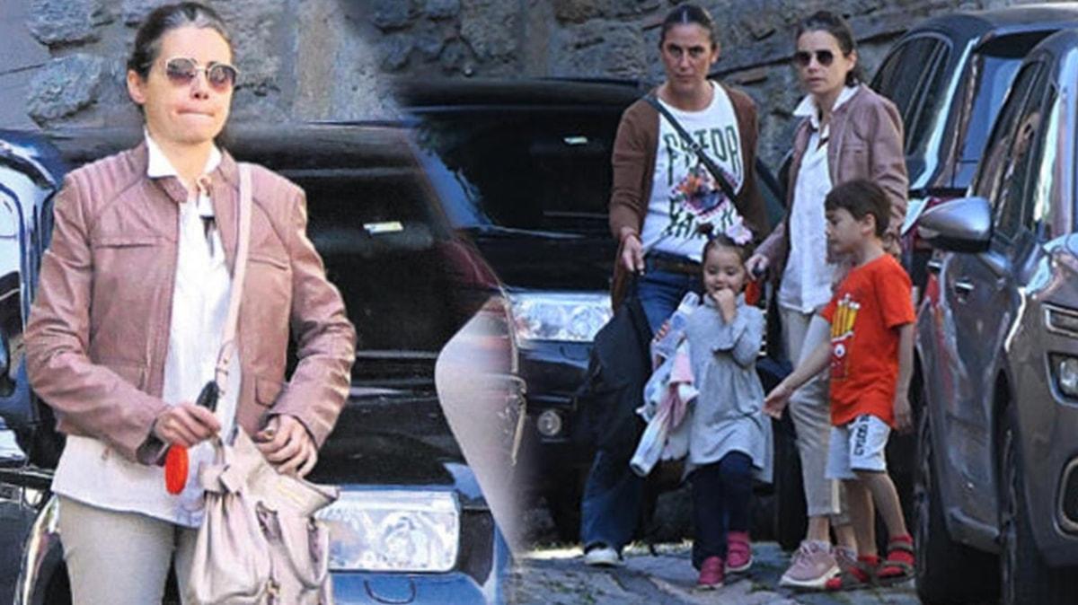 Eşi Serdar Oral'ı kaybeden Özgü Namal ilk kez görüntülendi