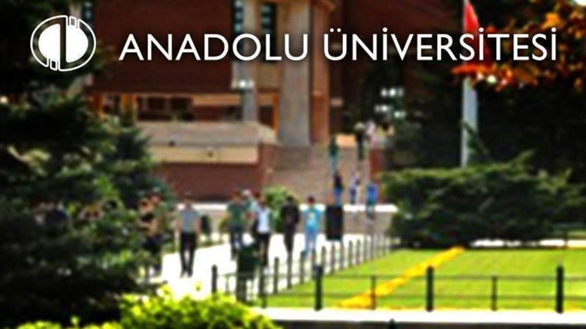 Anadolu Üniversitesi kayıt yenileme işlemlerini 23 Ekim'e kadar uzattı