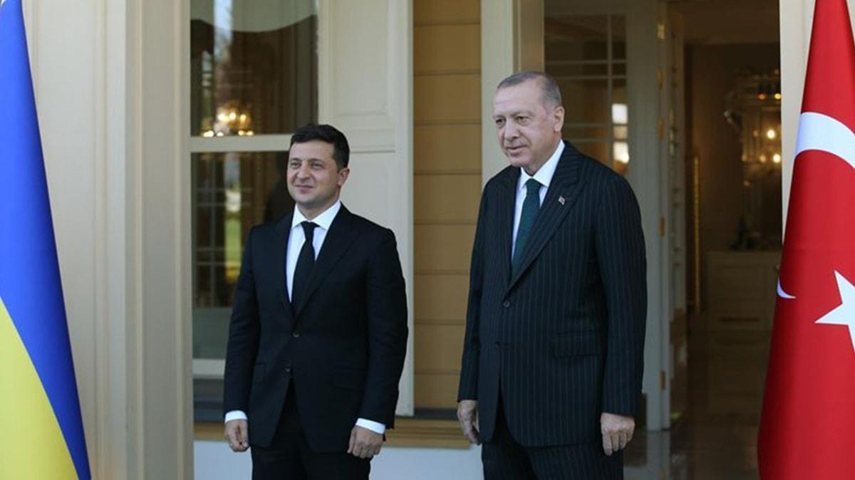 Başkan Erdoğan - Zelenskiy görüşmesi sona erdi