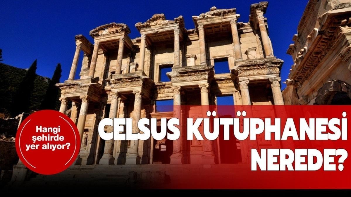 """Celsus Kütüphanesi'ne nasıl gidilir"""" Celsus Kütüphanesi nerede, hangi şehirde"""""""
